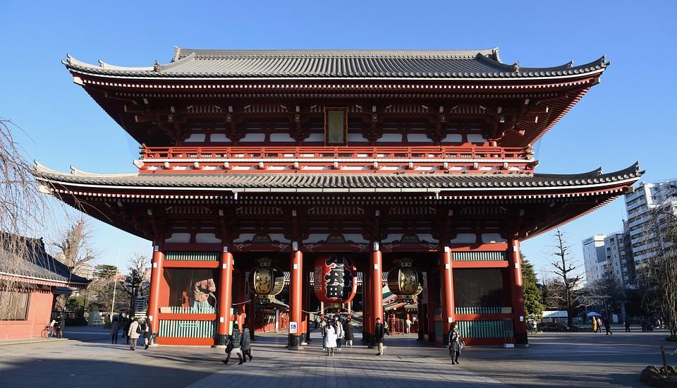 Der Senoji Tempel in Tokio