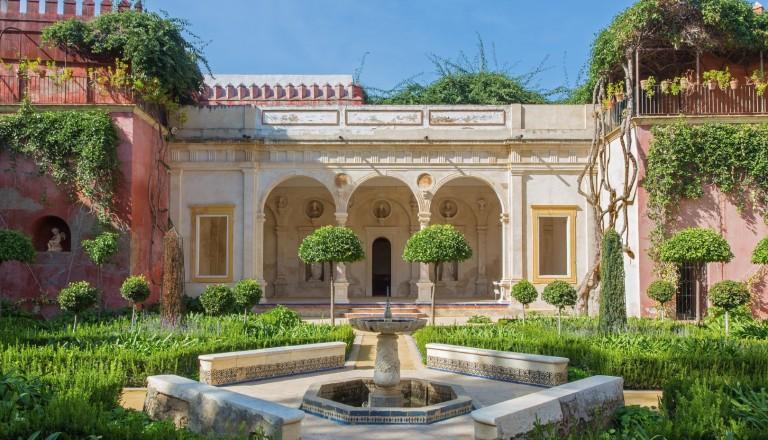 Der Stadtpalast Casa de Pilatos in Sevilla.