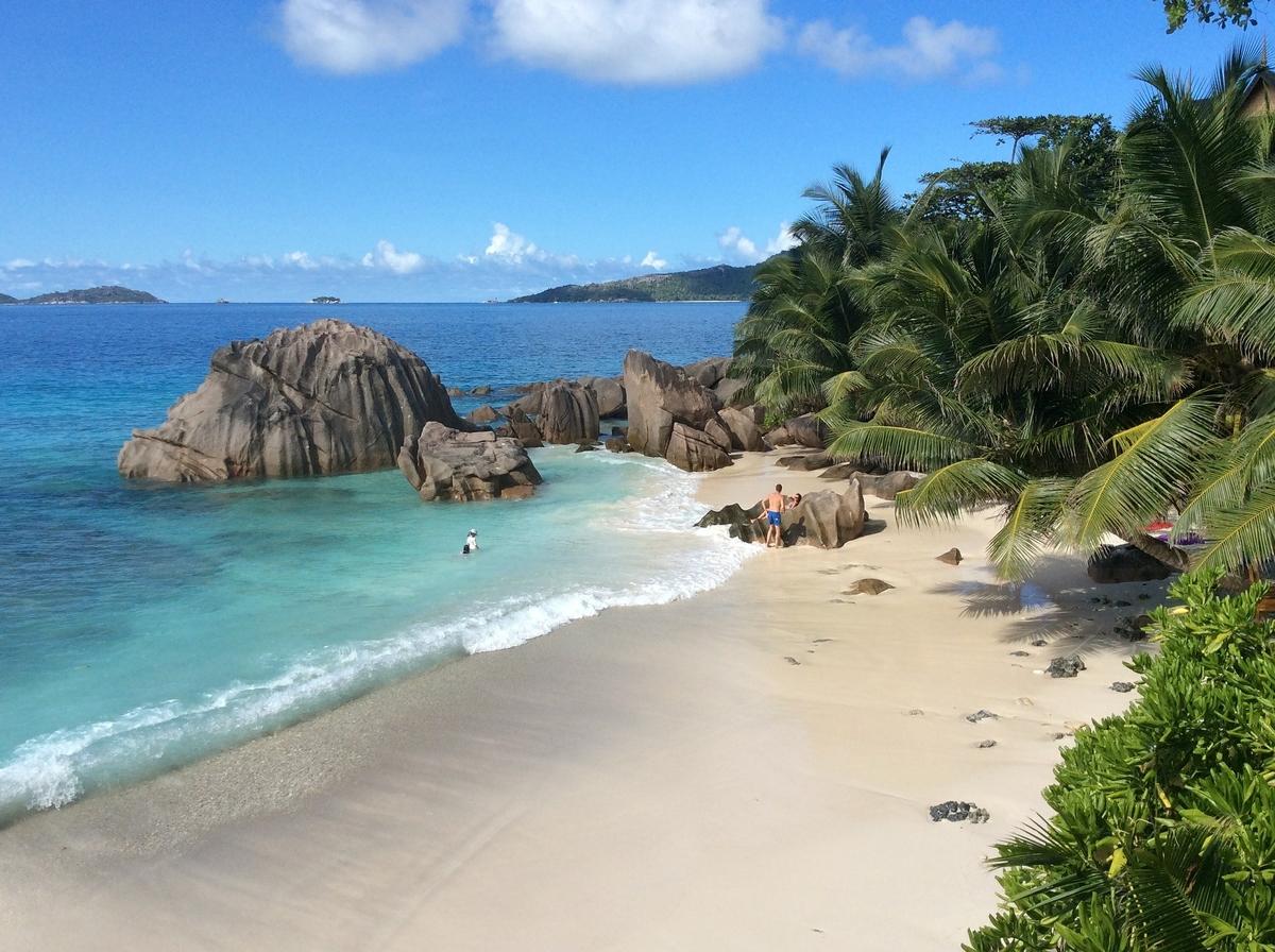 Inselglück auf den Seychellen.