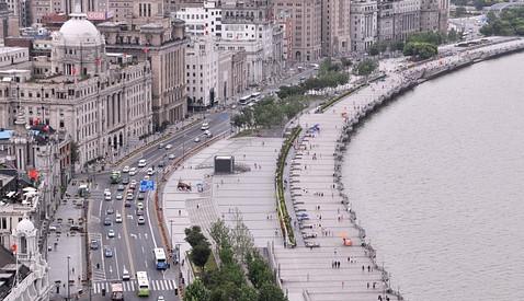 Shanghais Uferpromenade - Der Bund