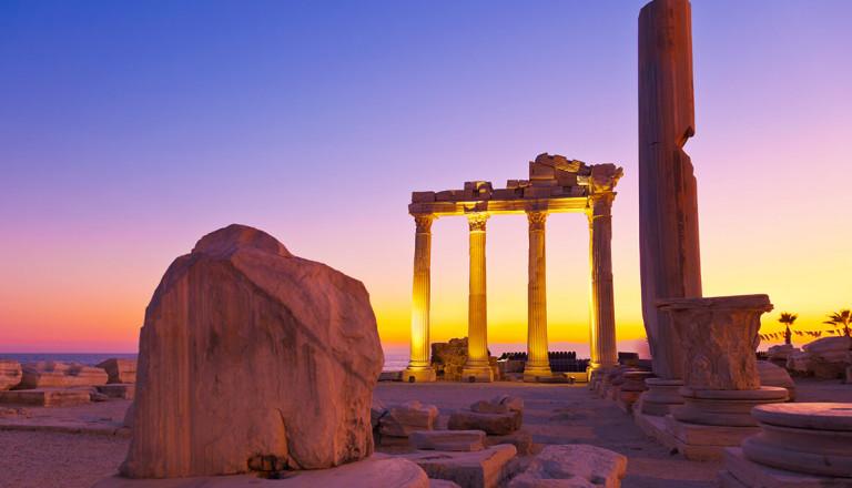 Side Apollon-Tempel