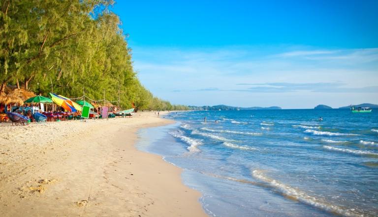 Otres Beach in Sihanoukville Kambodscha