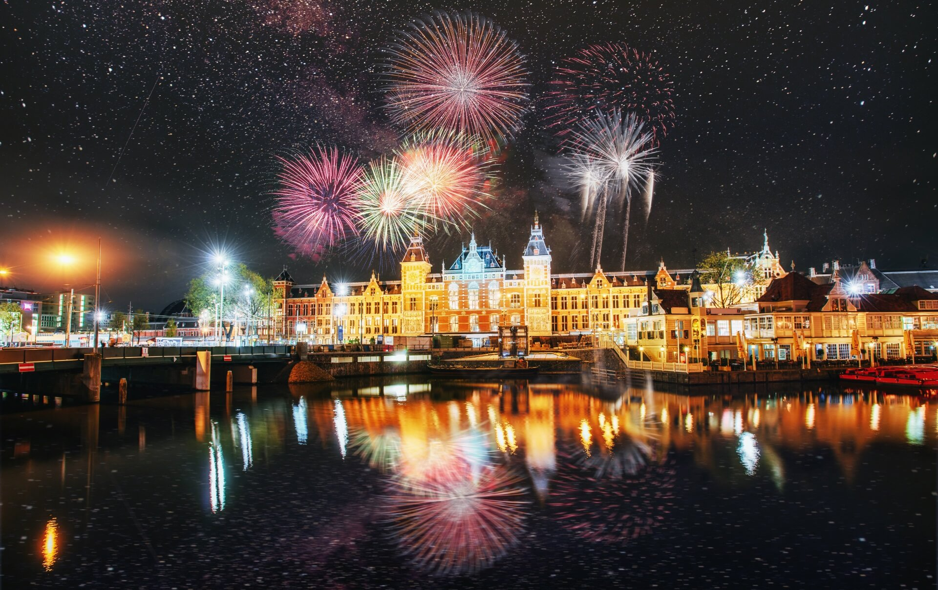 3 Nächte ★ Party pur Silvester in Amsterdam