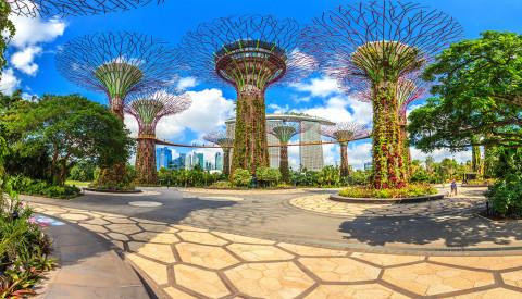 Singapur - Gardens by the Bay