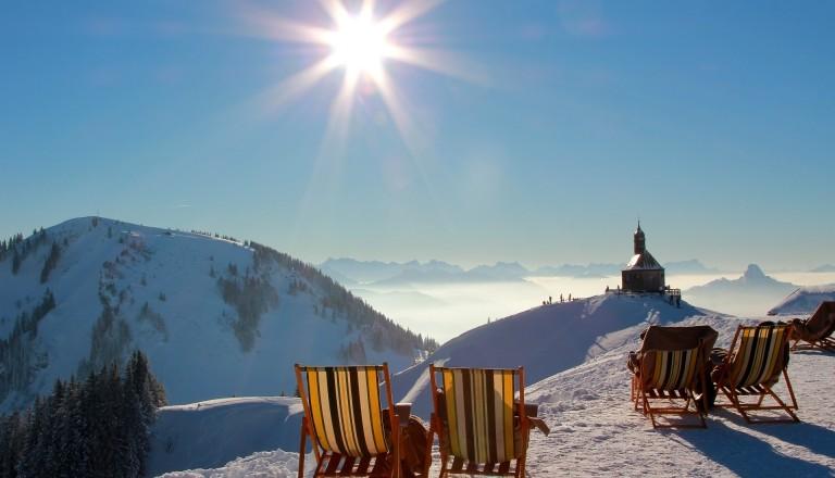 Skiurlaub Deutschland Wallberggipfel