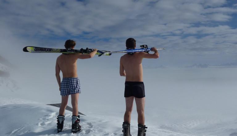 Skiurlaub Österreich Sonnencreme