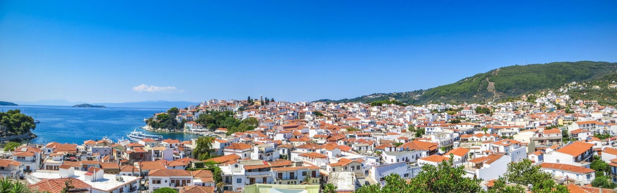 Skiathos Stadt Reisen