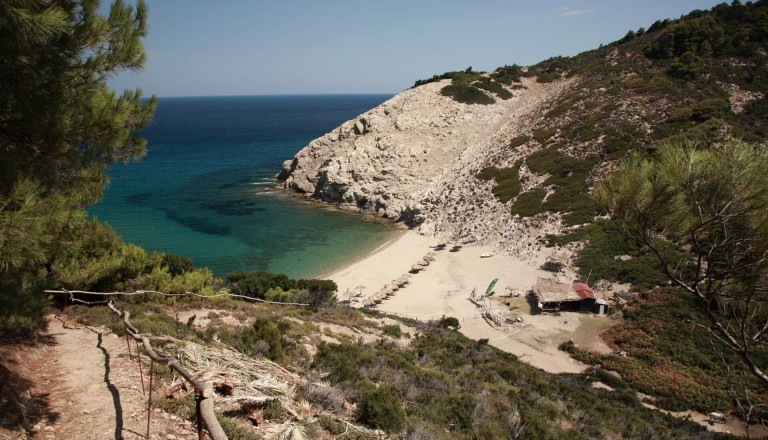 Strand Skiathos Griechenland