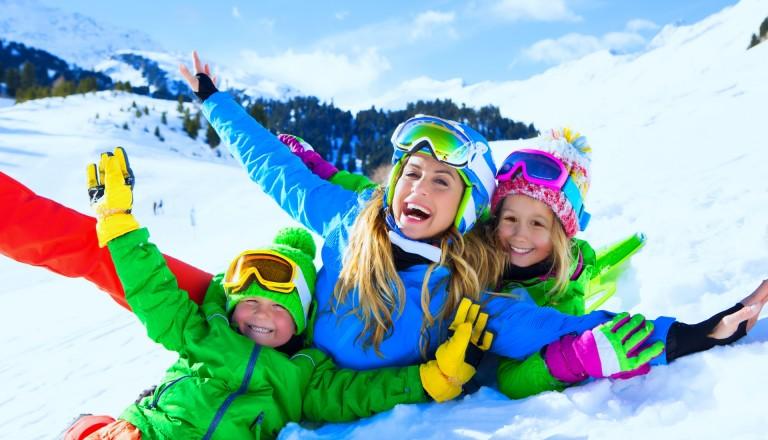 Ein Grund zur Freude: Skiurlaub in Sölden.