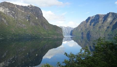 Der Sognefjord in Norwegen