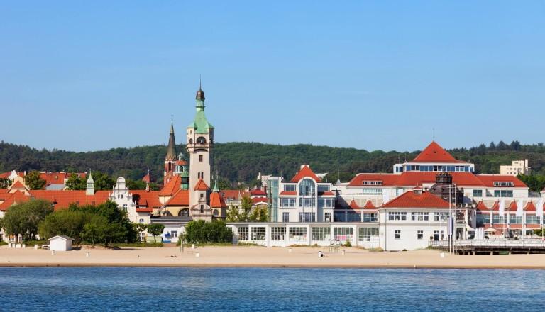 Sopot Beach Polen