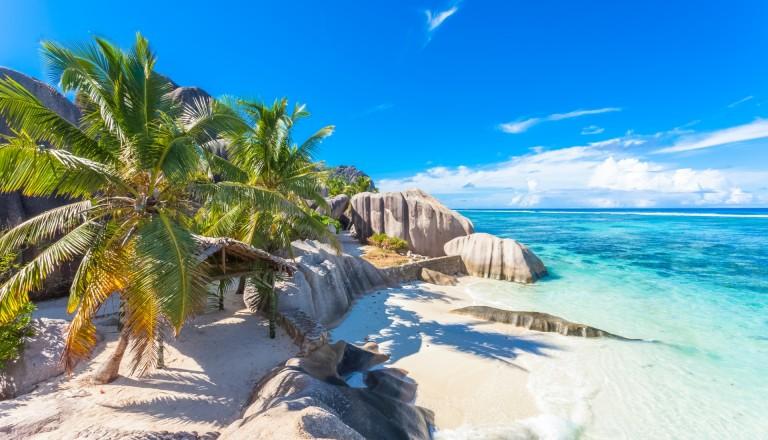 Source d'Argent auf La Digue, Seychellen