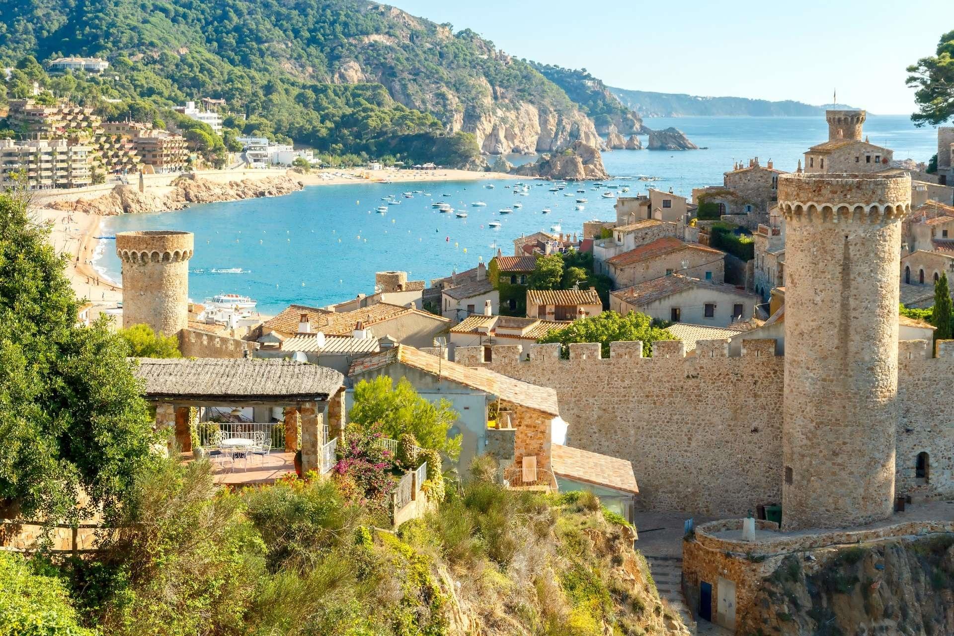 Spanien an Costa Brava - Tossa del Mar. All Inclusive.