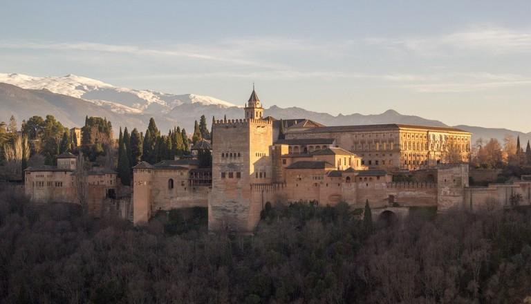 spanien granada alhambra burg palast