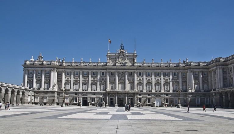 spanien madrid palacio de real