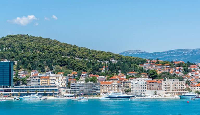 Die reizende Küstenstadt Split auf Pauschalreisen in Kroatien