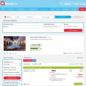 Screenshot Hotel Lambert Polen