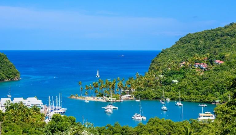 Marigot Bay Strand St. Lucia