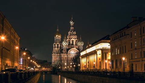 Die Auferstehungskirche in St. Petersburg