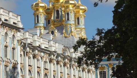 Der Katharinenpalast in St.Petesburg
