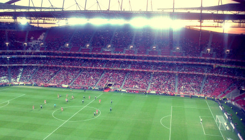 Im Estádio da Luz spielt Benfica Lissabon