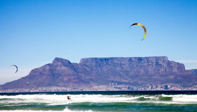 Süafrika Surf Bloubergstrand Südafrika