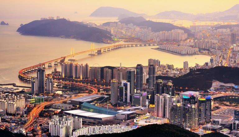 Busan in Südkorea.