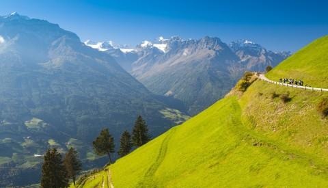 Südtirol Vinschgau Wandern