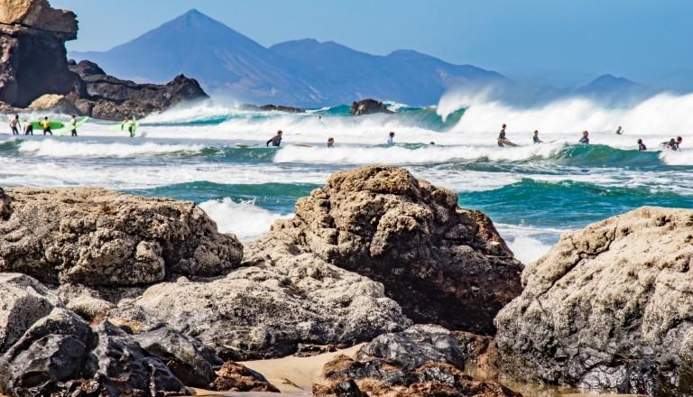Surfurlaub Kanaren Fuerteventura Playa del Viejo