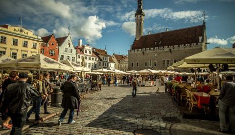 Auf Platz 1 ganz klar - die Hauptstadt Tallin