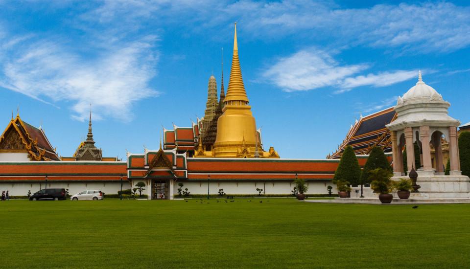 Der Große Palast in Bangkok.