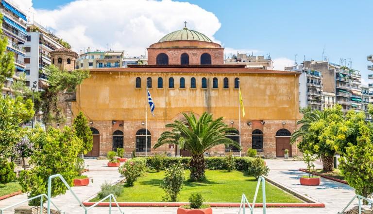 Die Hagia Sophia in Thessaloniki