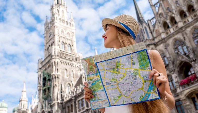 Städtereisende in München