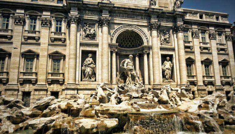 Trevi-Brunnen, Rom Pauschalreisen