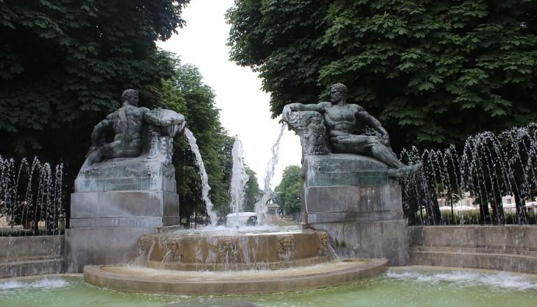 Entspannen können Sie in Turin in wunderschönen Parkanlagen.