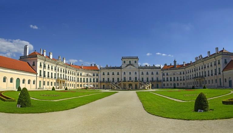 Das Schloss Esterhazy in Ungarn.