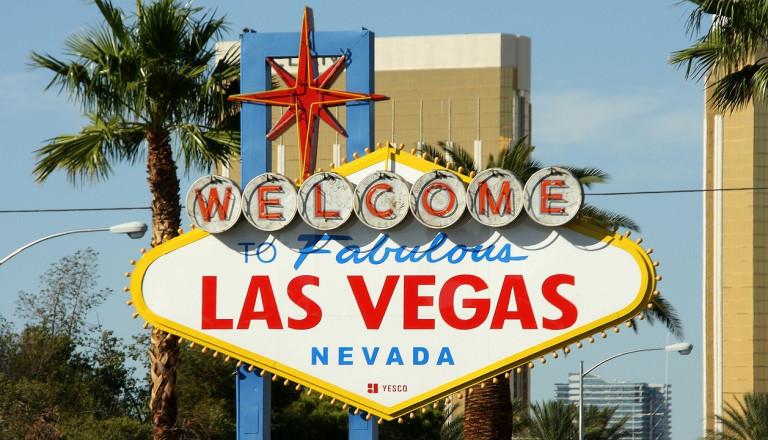 Glückspiel in Las Vegas