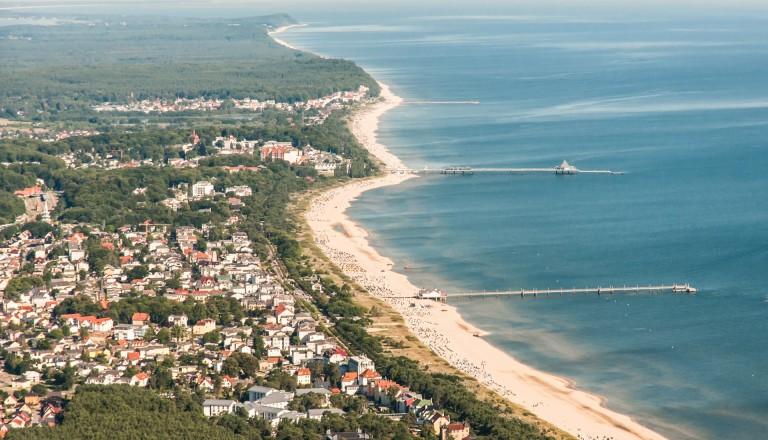 Ahlbeck und Bansin auf Usedom.