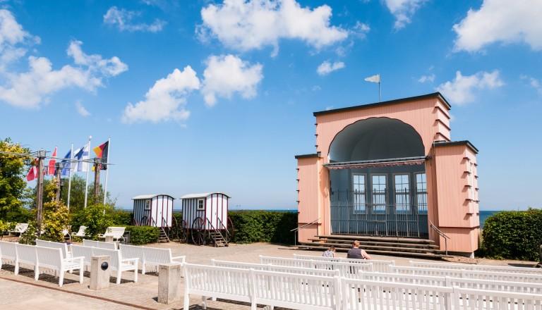 Die Konzertmuschel in Bansin auf Usedom