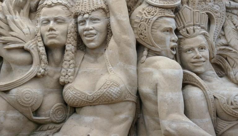 Das Sandskulpturenfestival auf Usedom.