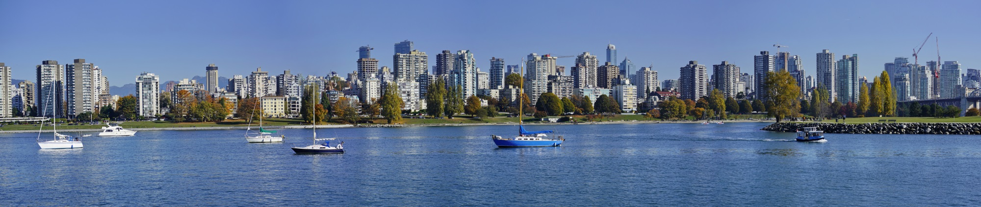 Vancouver Panorama Skyline