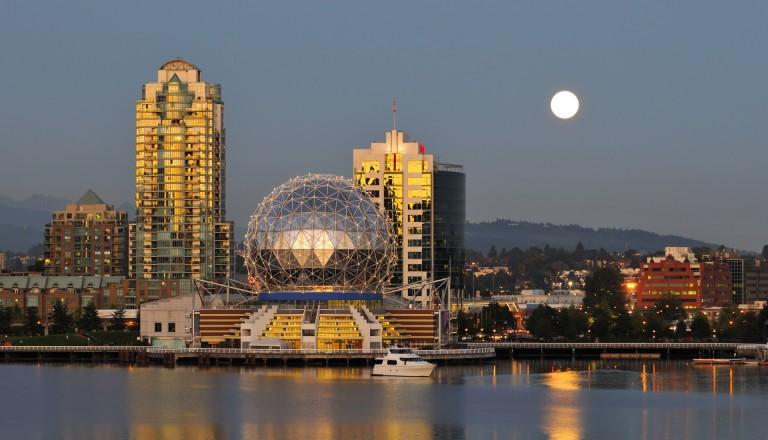 Die Vancouver Science World.