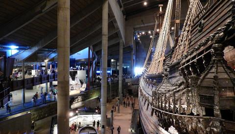 Das Vasa Museum in Stockholm.