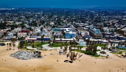 Venice Beach von Los Angeles