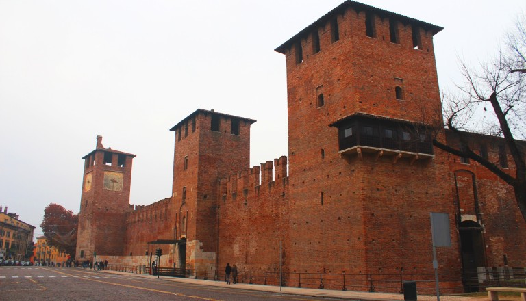 Das Castelvecchio in Verona.