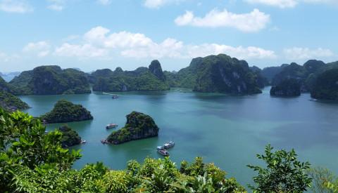 Die Bucht von Halong! Vietnam