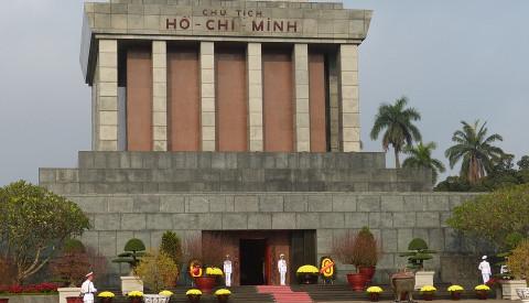 In Hanoi befindet sich das Ho-Chi-Minh Museum.