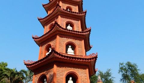 Die Einsäulenpagode in Hanoi.
