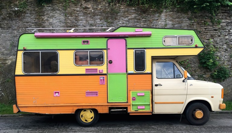 Vintage Wohnmobil