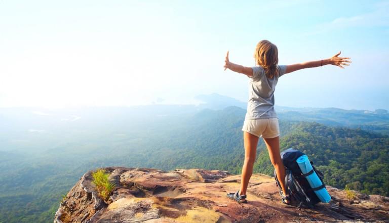 Wandern Aktivurlaub Freude
